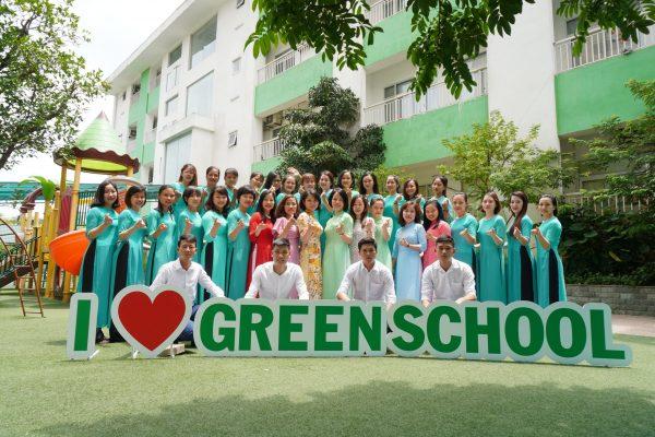 Hình ảnh đội ngũ cán bộ giáo viên của Green School Mỹ Đình