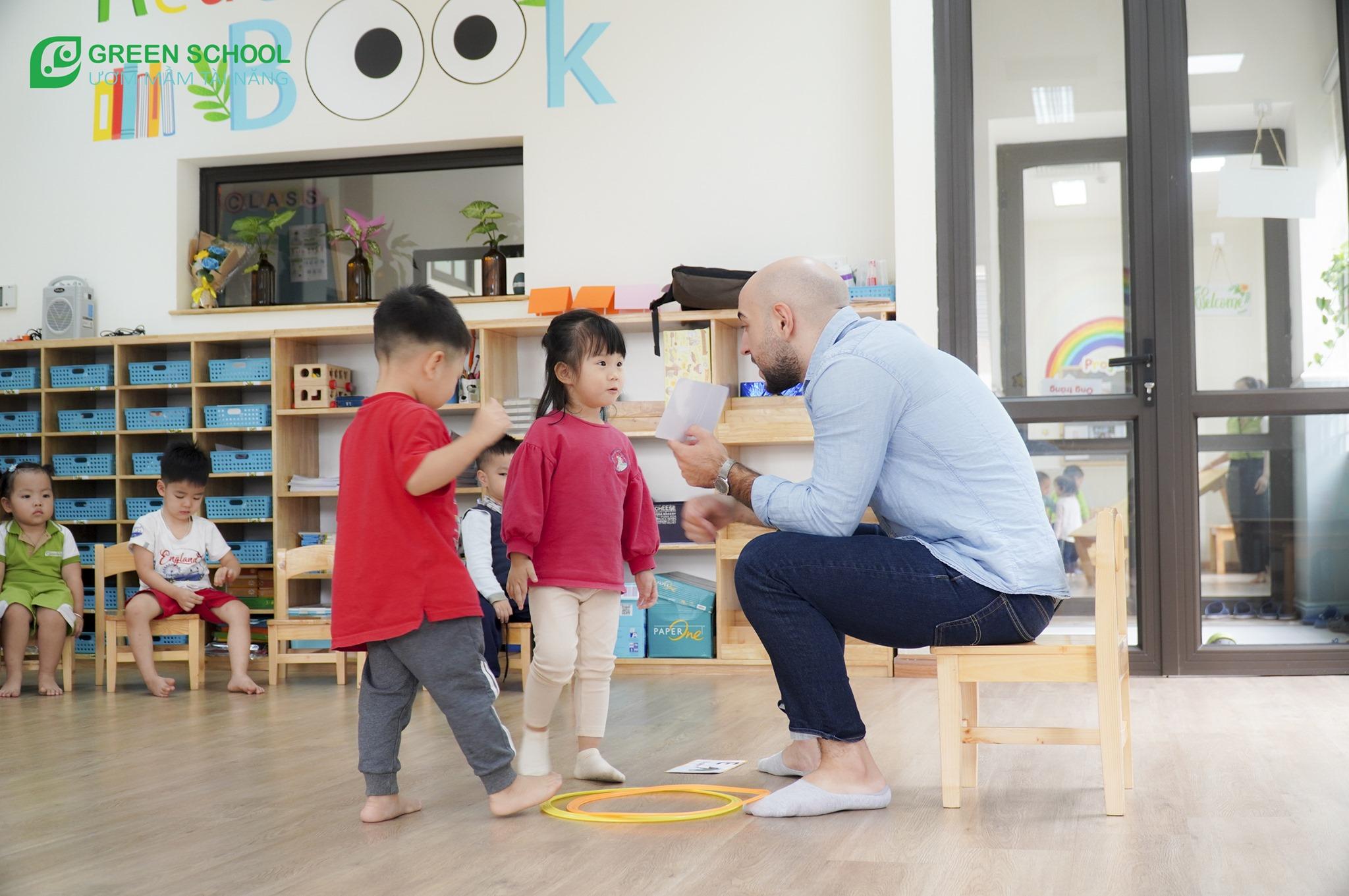 Green School Nam Đô Trường mầm non ở tại khu vực Trương Định có đầy đủ cơ sở vật chất và đội ngũ để hướng đến giáo dục toàn diện cho trẻ