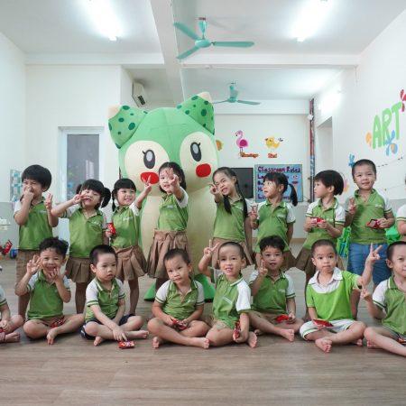 Trường mầm non tốt giữ trẻ ngoài giờ ở tại khu vực Trương Định Tân Mai