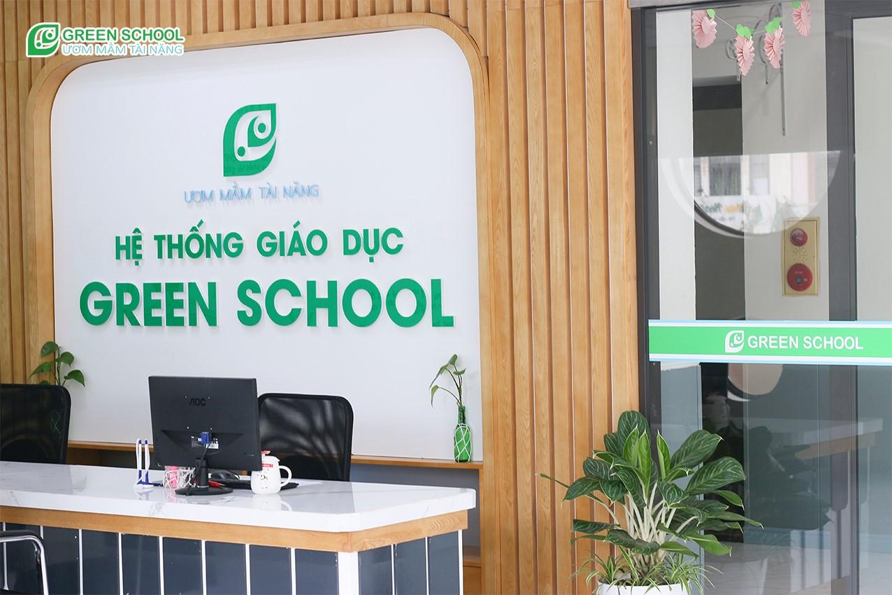 Quầy tuyển sinh Green School Bắc Giang - Nơi làm thủ tục nhập học cho các bạn nhỏ tại Green School Bắc Giang